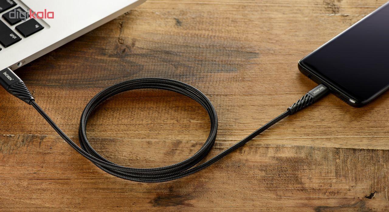 کابل تبدیل USB به USB-C کنفی آینوبن مدل Braided طول 1.2 متر main 1 1