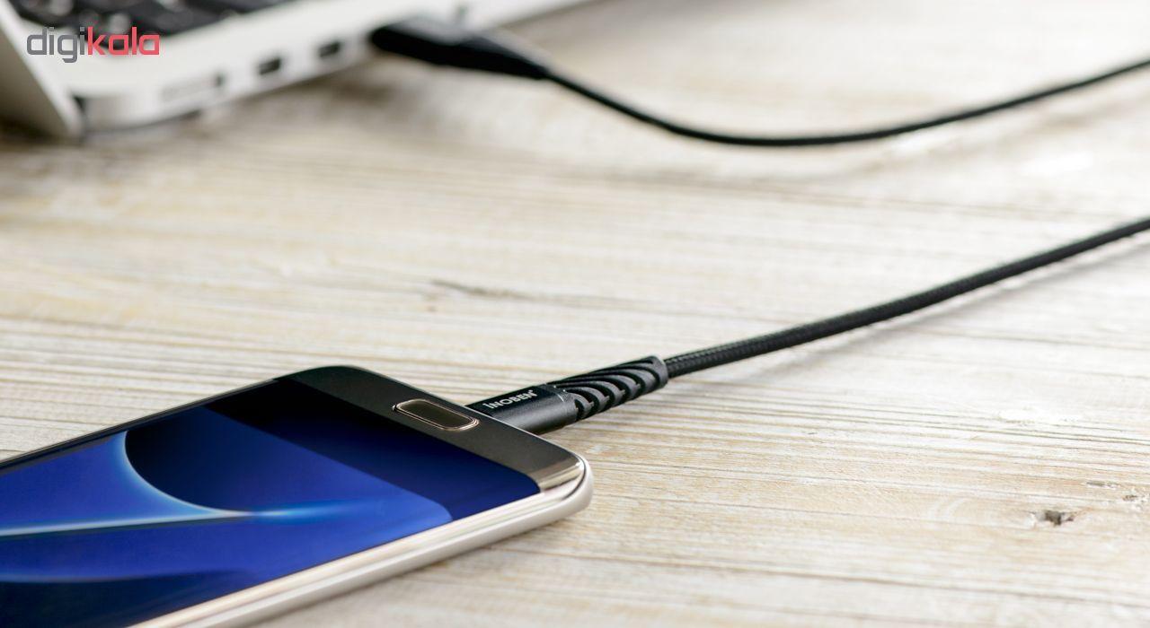 کابل تبدیل USB به USB-C کنفی آینوبن مدل Braided طول 1.2 متر main 1 3