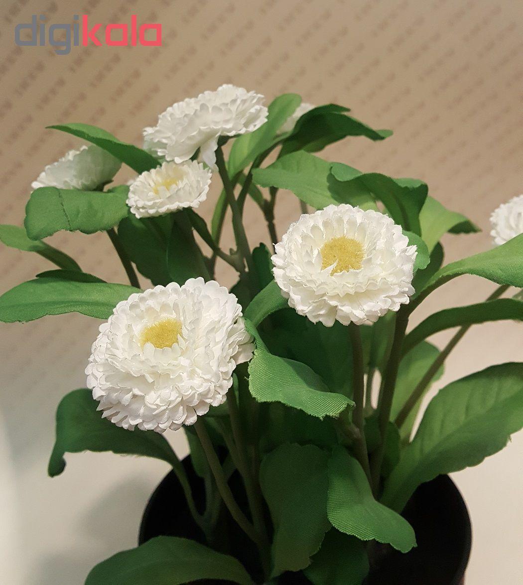 گلدان با گل مصنوعی ایکیا مدل Fejka 70234147  main 1 5