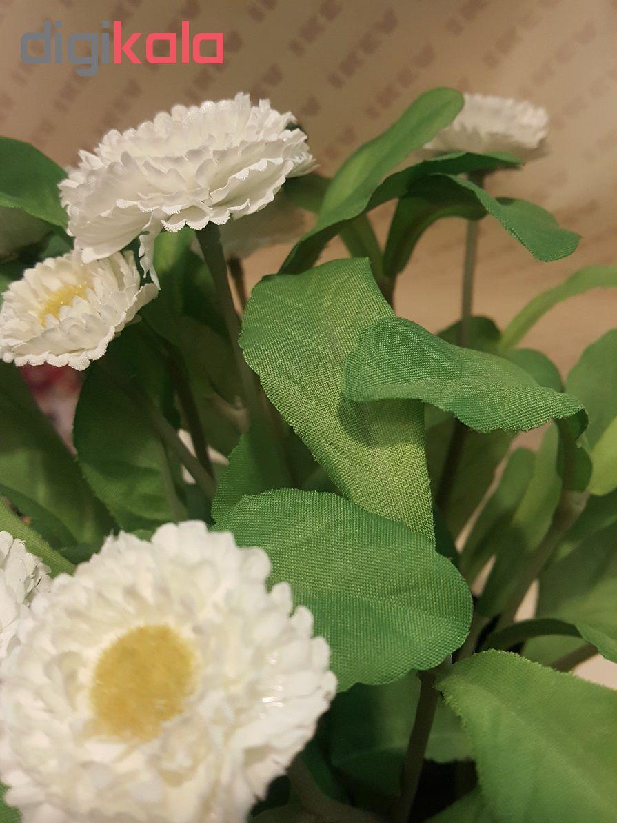 گلدان با گل مصنوعی ایکیا مدل Fejka 70234147  main 1 6