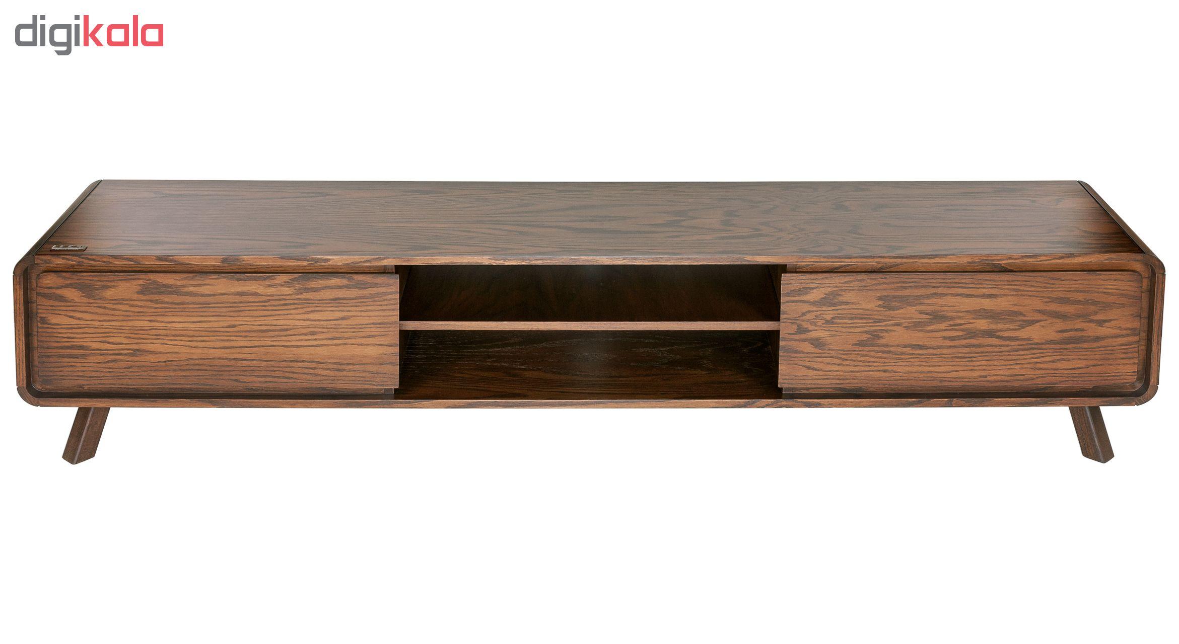 میز تلویزیون آیلکس مدل LONIZ-WALNUT-220