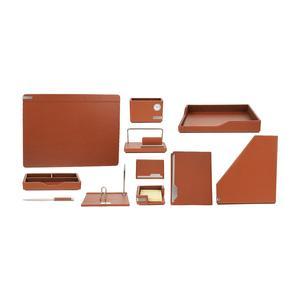 مجموعه لوازم اداری مدیریتی 11 تیکه یونیک مدل LeBr01