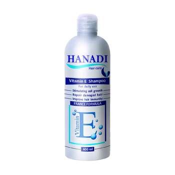 شامپو هانادی مدل Vitamin E حجم ۴۰۰ میلی لیتر
