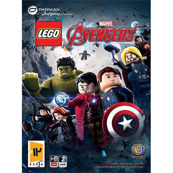 بازی avengers نشر لوگو مخصوص PC