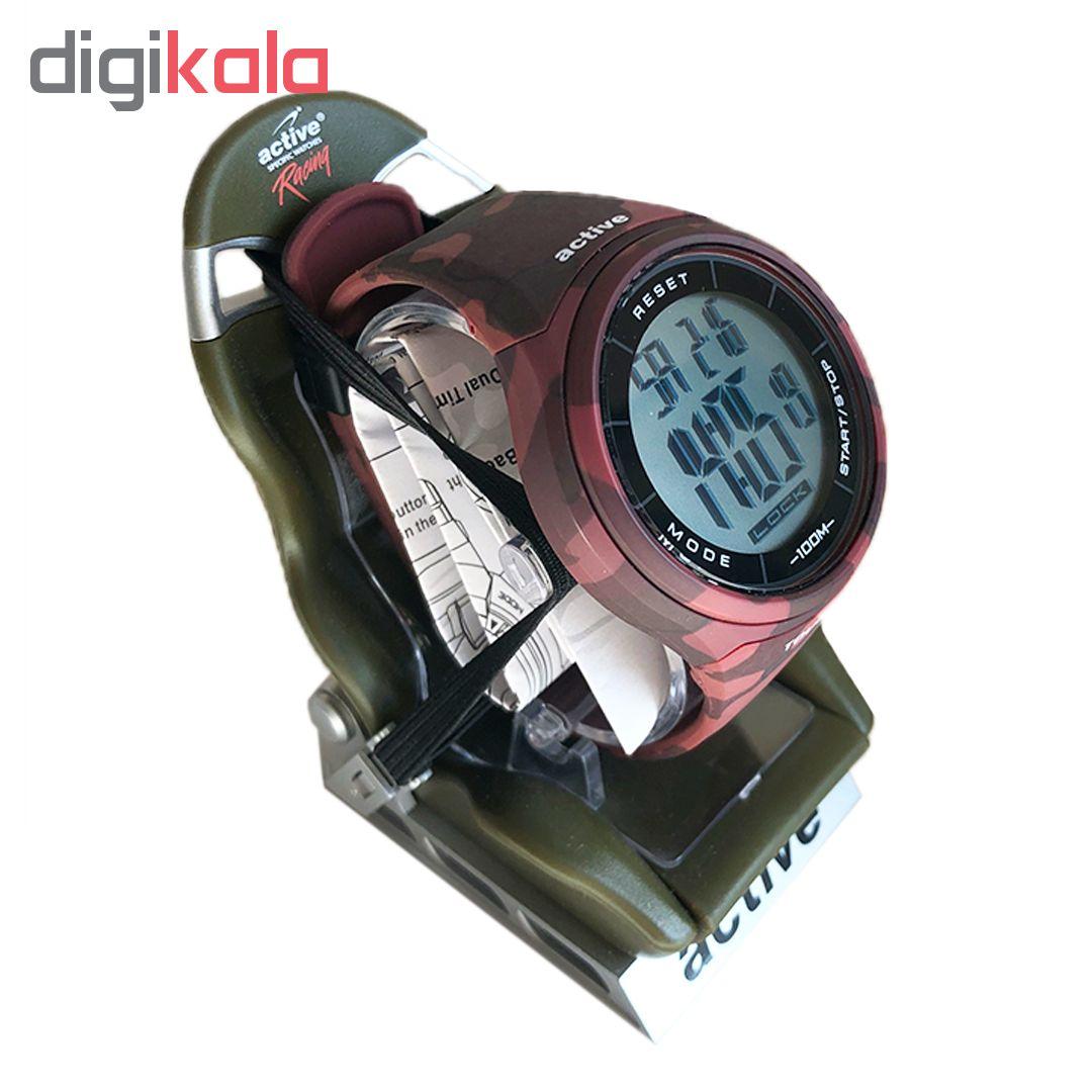 ساعت مچی دیجیتال مردانه اکتیو مدل YP11528