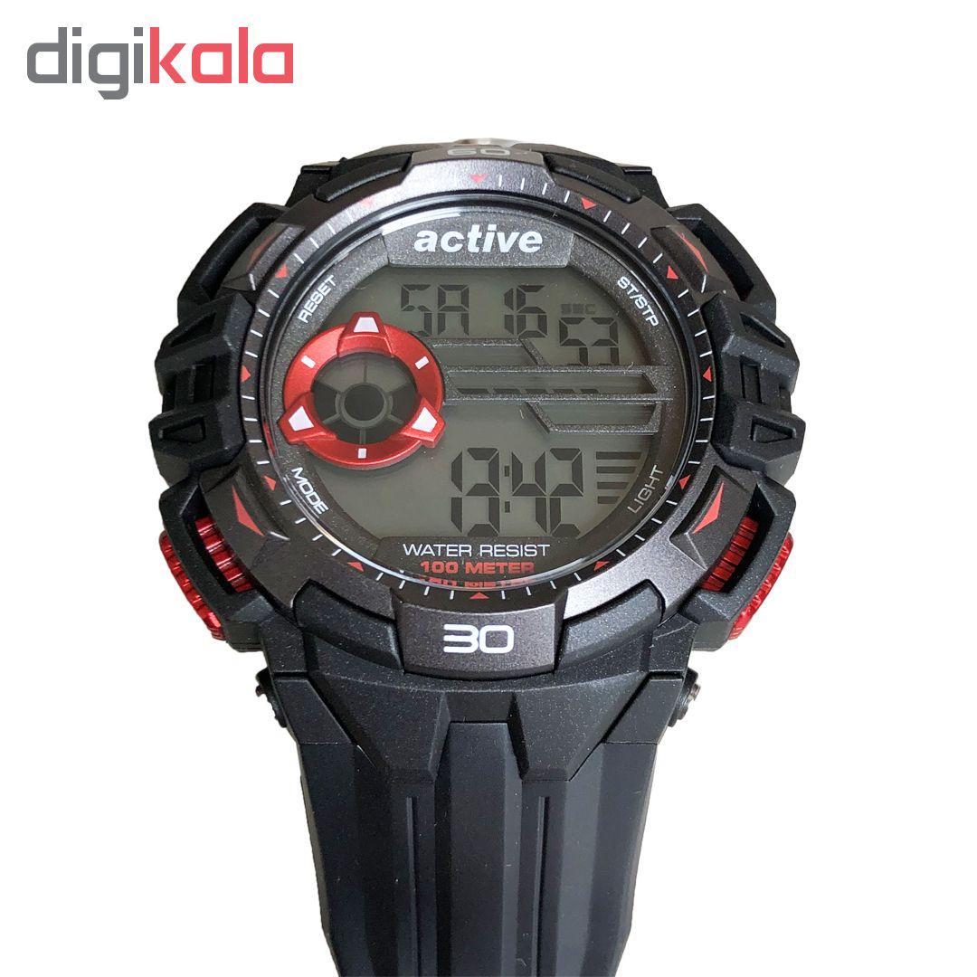 ساعت مچی دیجیتال مردانه اکتیو مدل YP16717-br