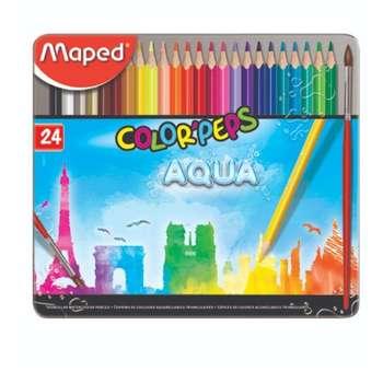 مداد آبرنگی ۲۴ رنگ مپد کد 8360