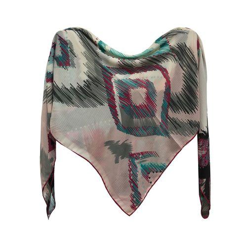 روسری زنانه مدلینا دست دوز طرح کشمیر 428 مدل 01