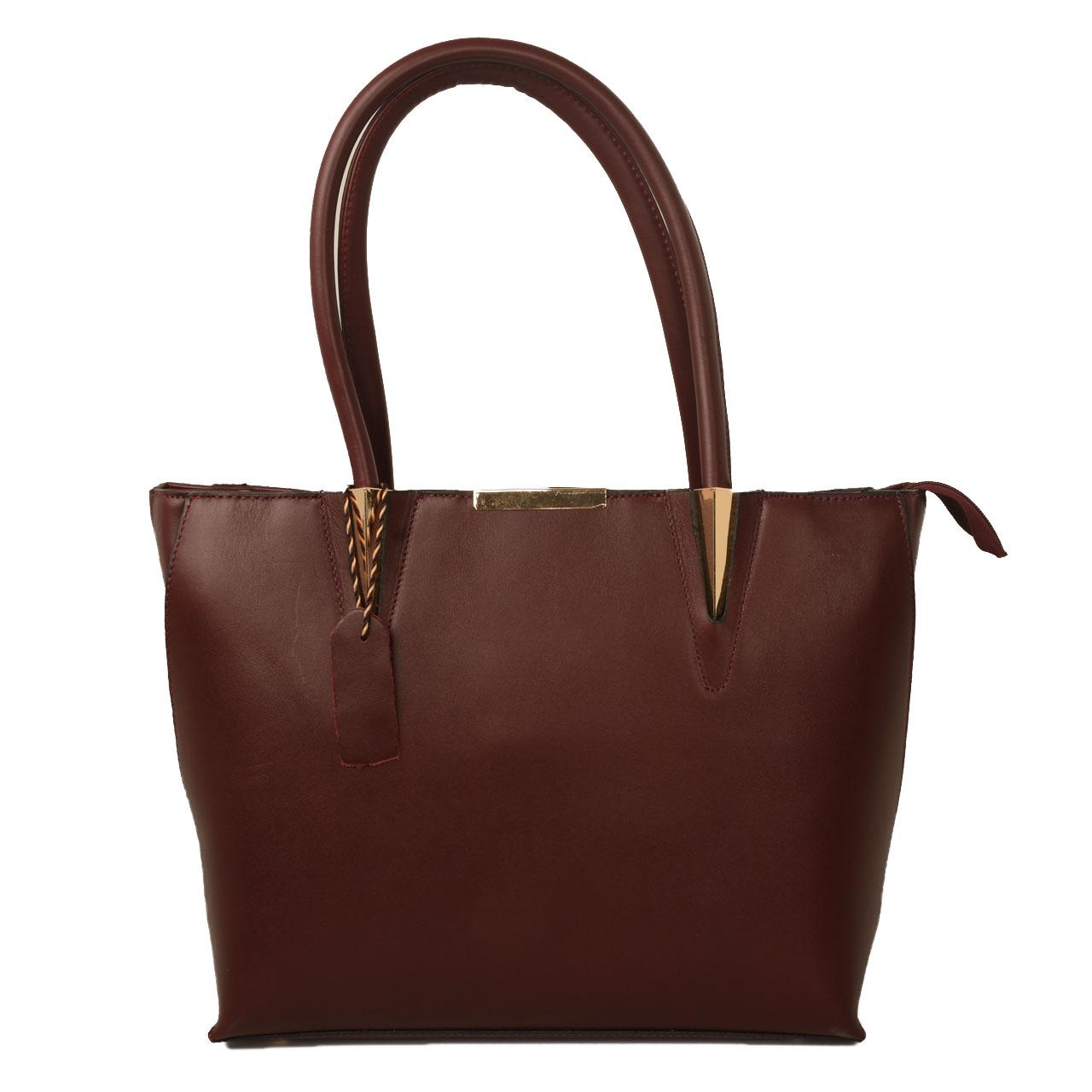 کیف دستی زنانه پارینه مدل PLV107-12 تک سایز