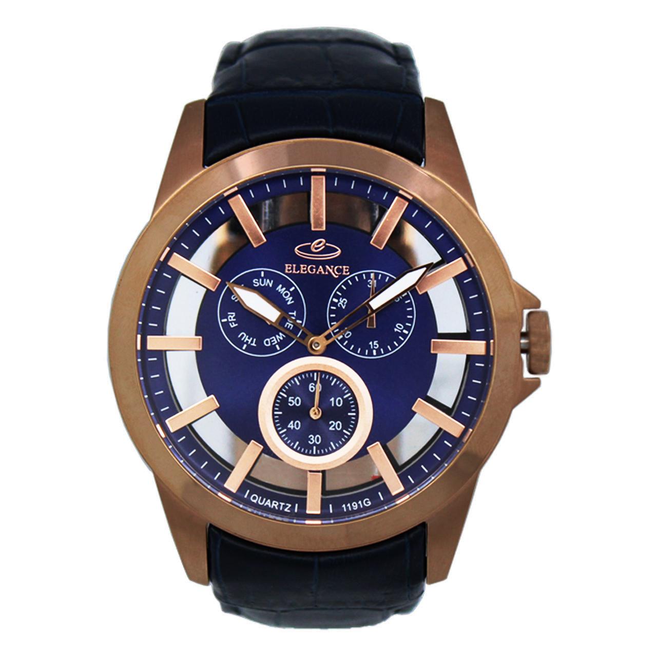 ساعت مچی عقربه ای مردانه الگانس مدل DGMK-0133 - 1191G