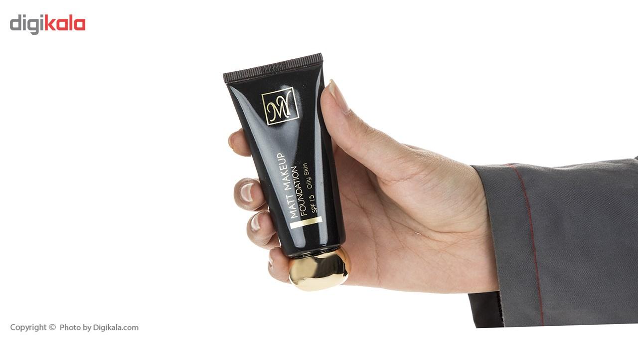 کرم پودر مای سری Black Diamond مدل Matt Makeup شماره 03