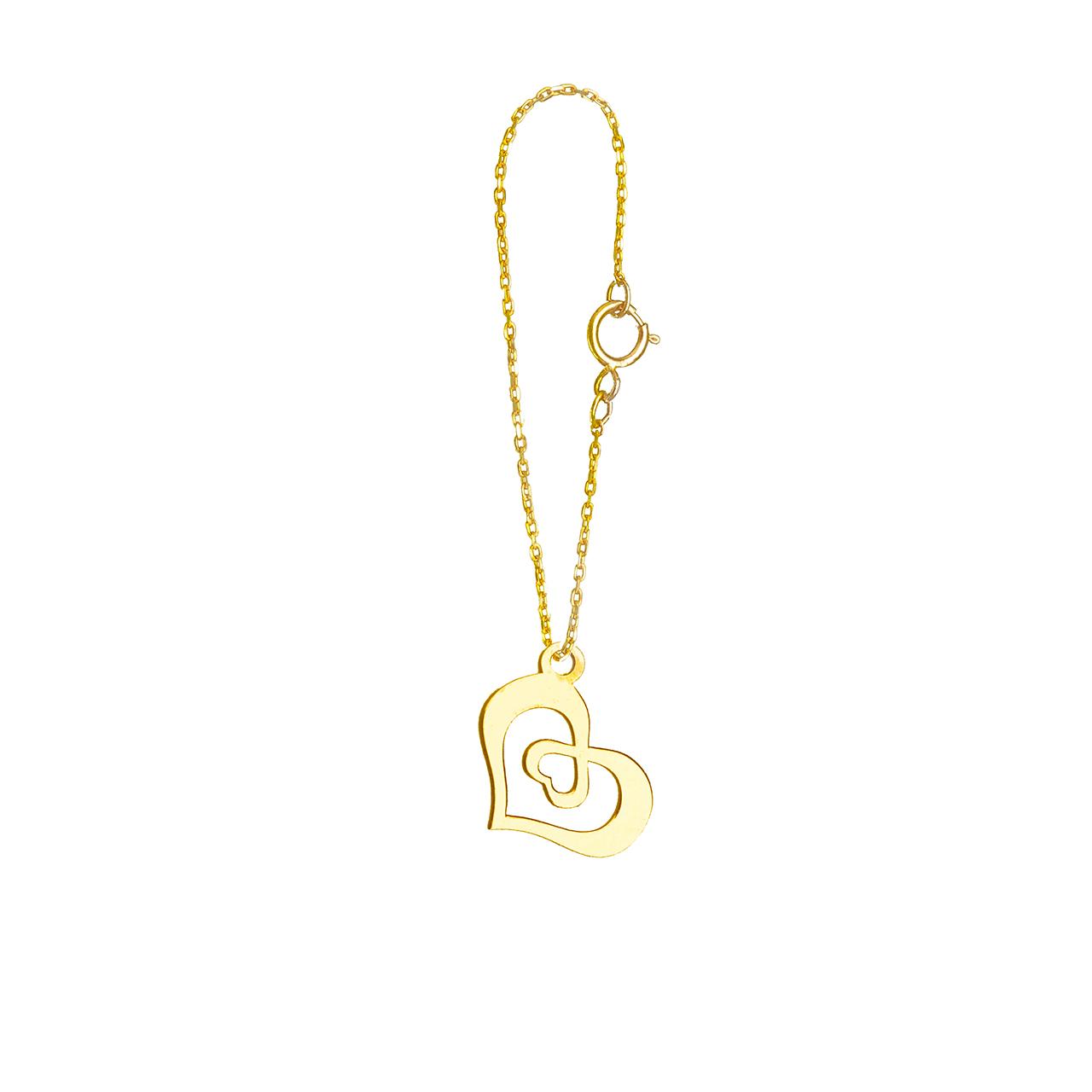خرید آویز ساعت طلا 18 عیار گالری فرنود مدل WP14