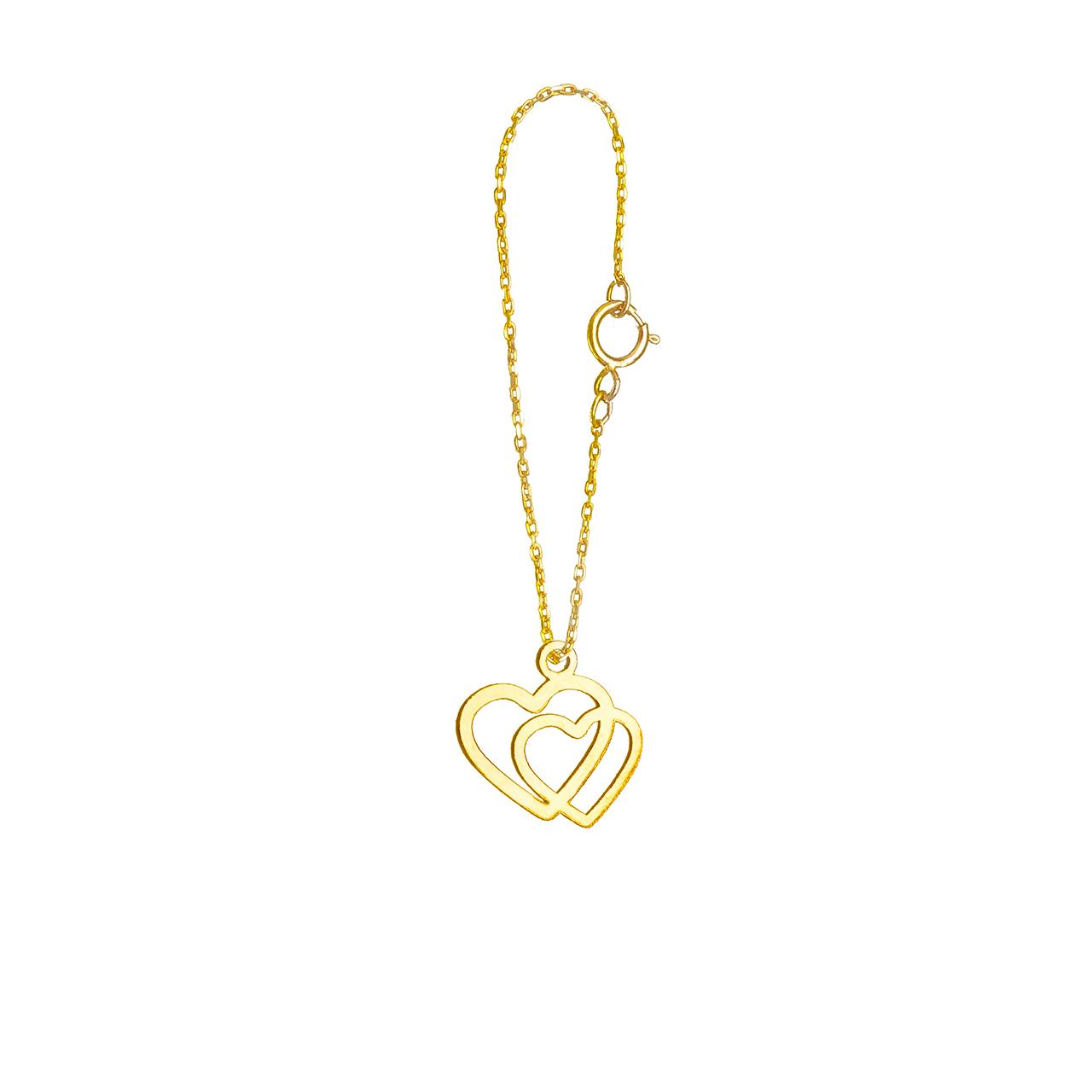 آویز ساعت طلا 18 عیار گالری فرنود مدل WP25