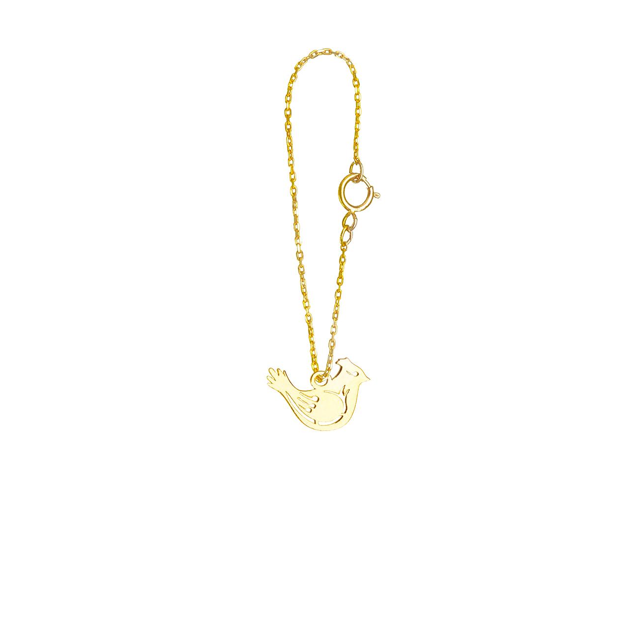 خرید آویز ساعت طلا 18 عیار گالری فرنود مدل WP27