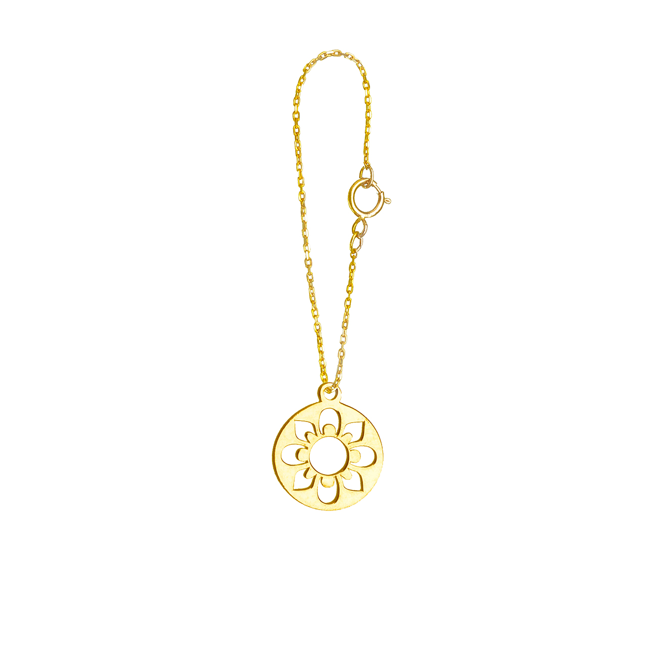 آویز ساعت طلا 18 عیار گالری فرنود مدل WP37