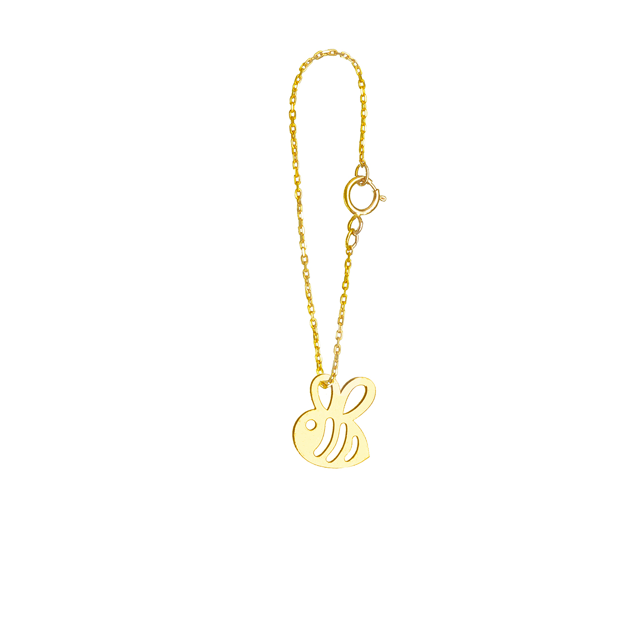 آویز ساعت طلا 18 عیار گالری فرنود مدل WP38