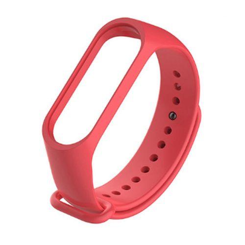 بند مچ بند مدل mi band3 siliconi  مناسب برای مچ بند شیائومی 3