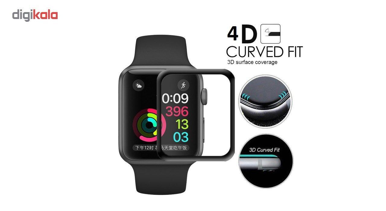 محافظ صفحه نمایش  مدل 4D مناسب اپل واچ 38 میلی متری main 1 2