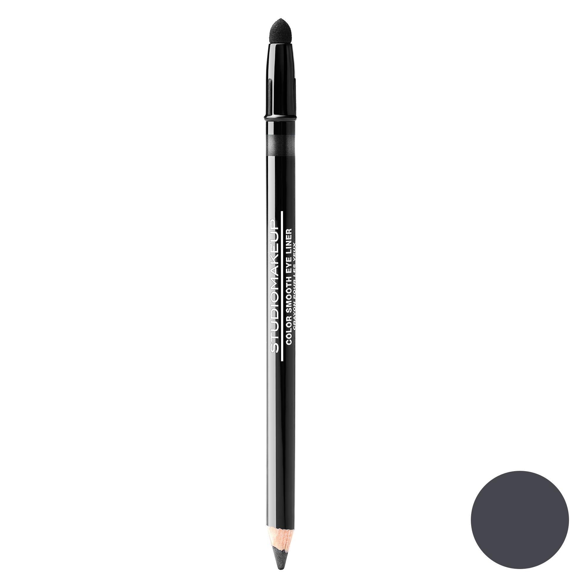 مداد چشم استودیو میکاپ مدل Color Smooth شماره 04