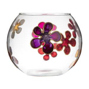 تنگ ماهی شیشه ای مدل Flower 3