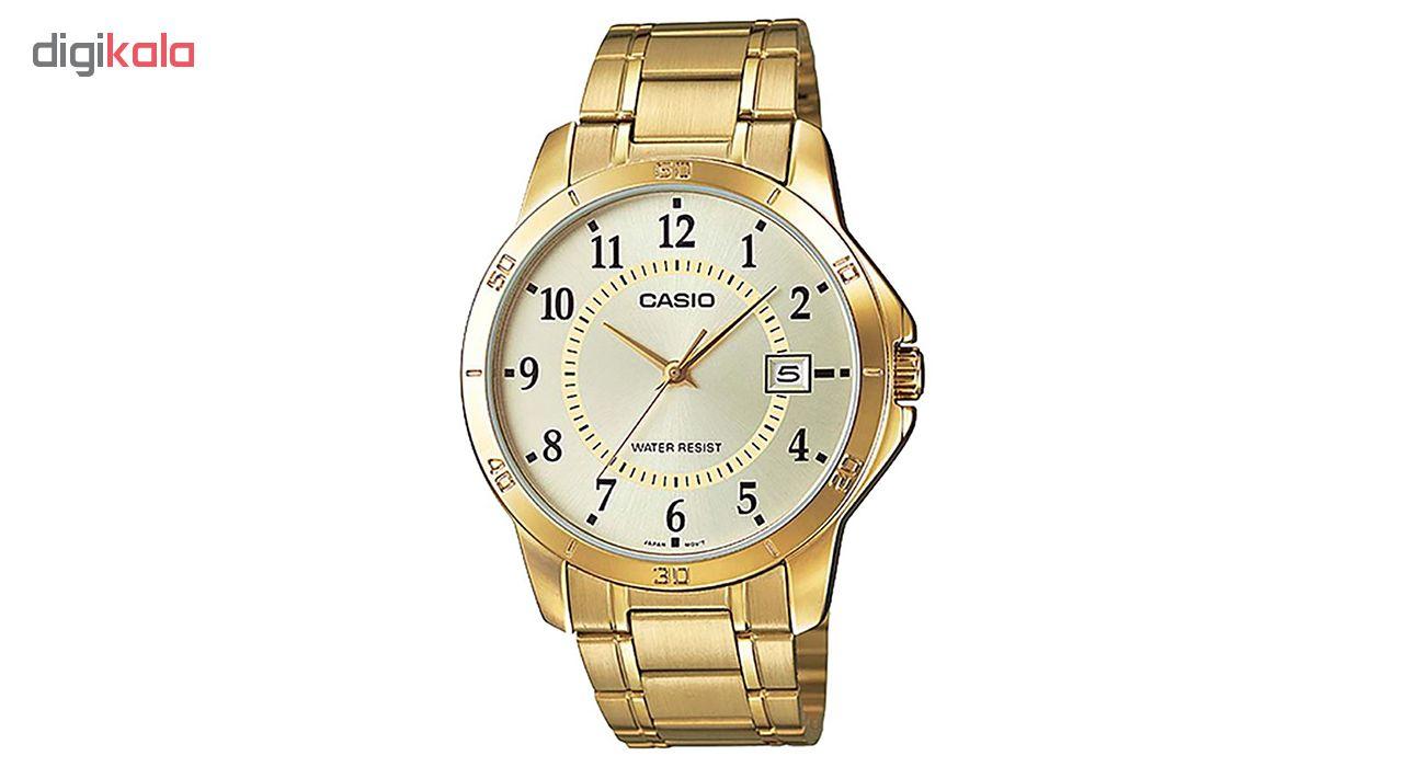 کد تخفیف                                      ساعت مچی عقربه ای مردانه کاسیو مدل MTP-V004G-9BUDF