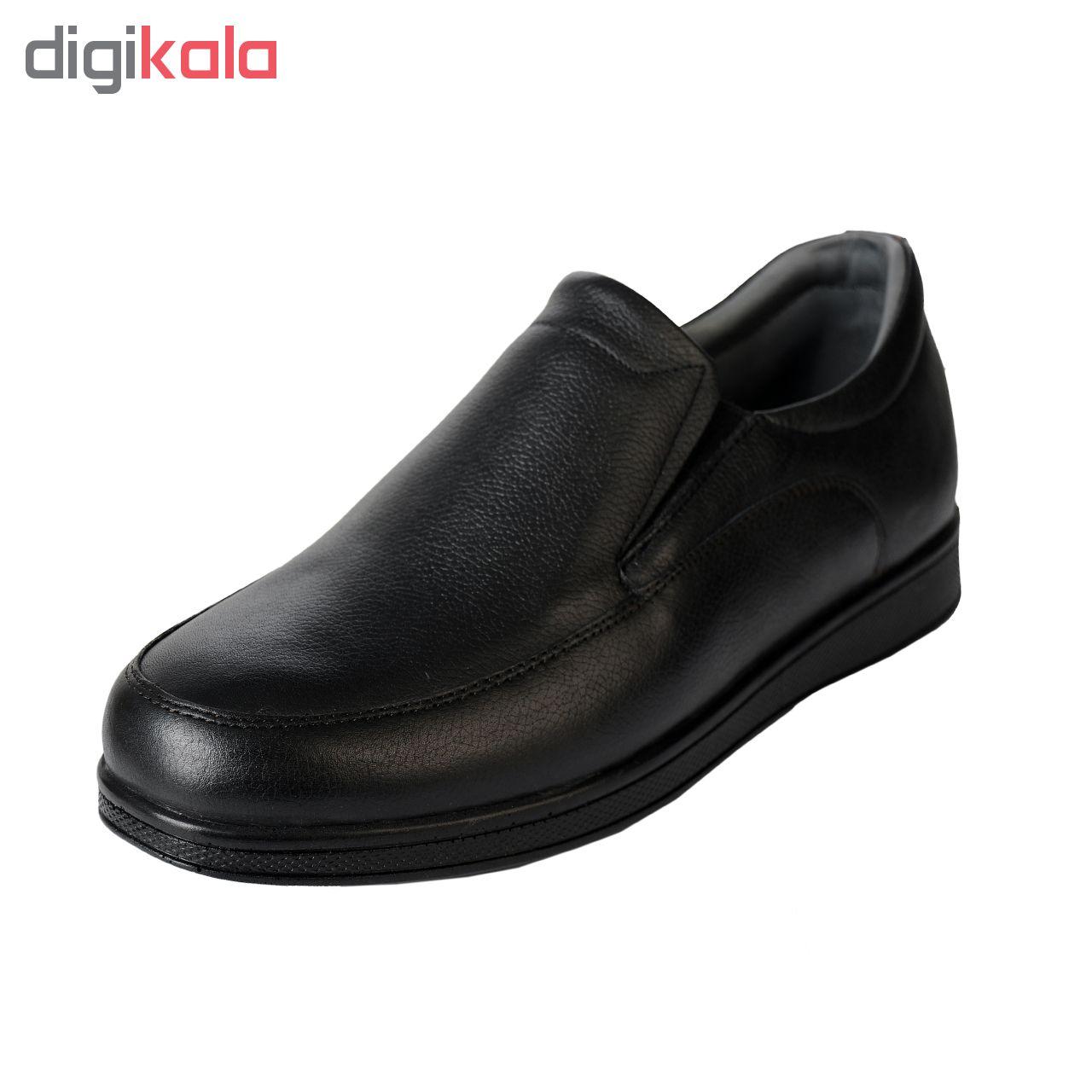کفش چرم مردانه کفش آریوان مدل AR996 M