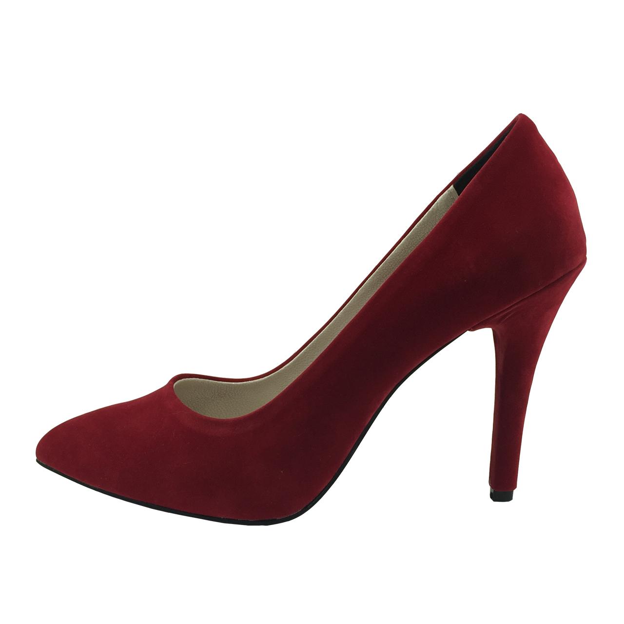 کفش زنانه مدل B133 رنگ قرمز