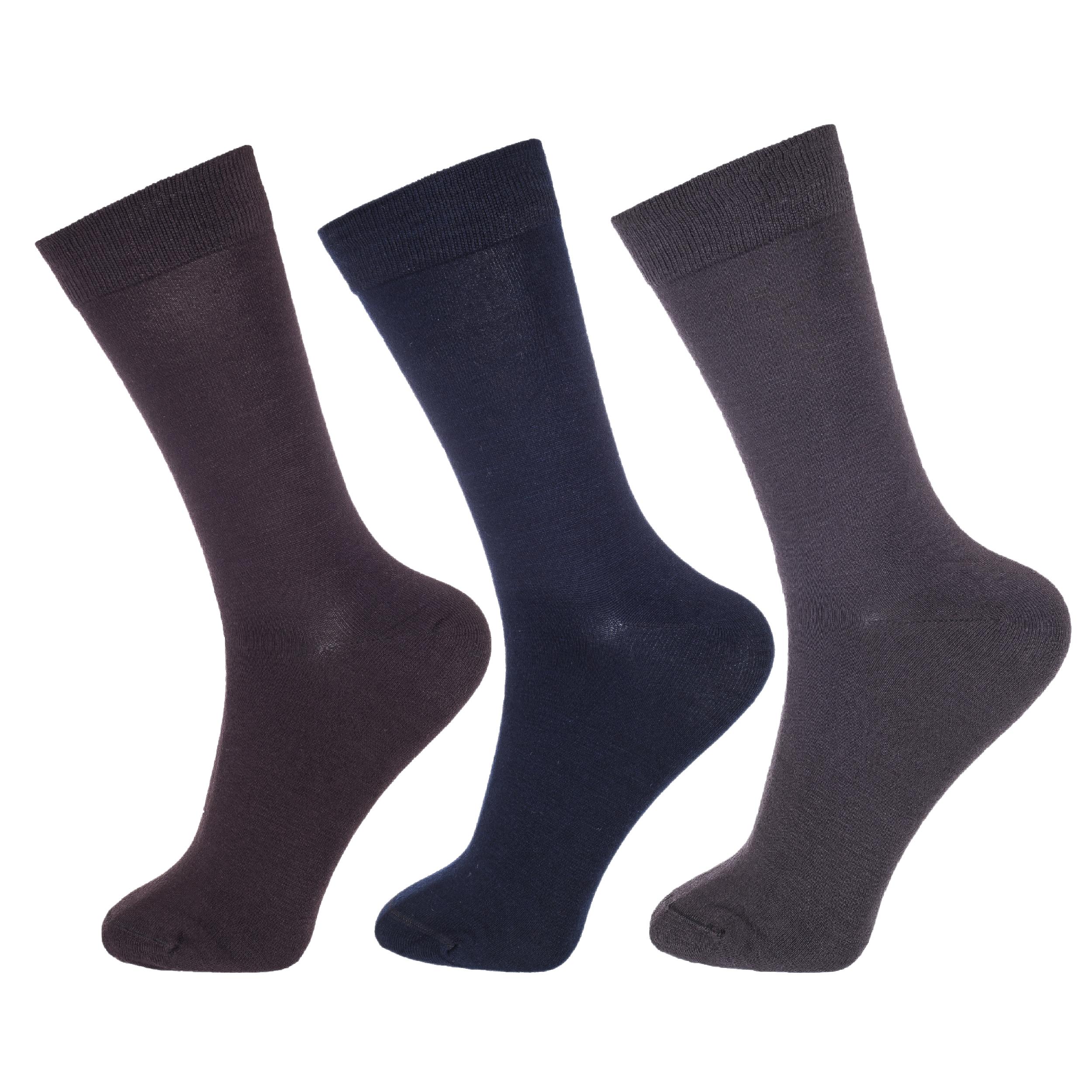 جوراب مردانه پاموک کد MPC4114 مجموعه 3 عددی