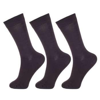 جوراب مردانه پاموک کد MPC4119 مجموعه 3 عددی
