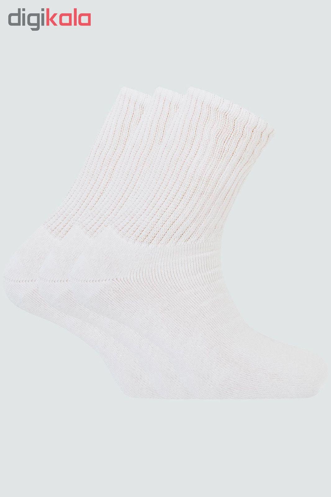 جوراب مردانه پونتو بلانکو کد 000-1494110 بسته 3 جفتی main 1 2