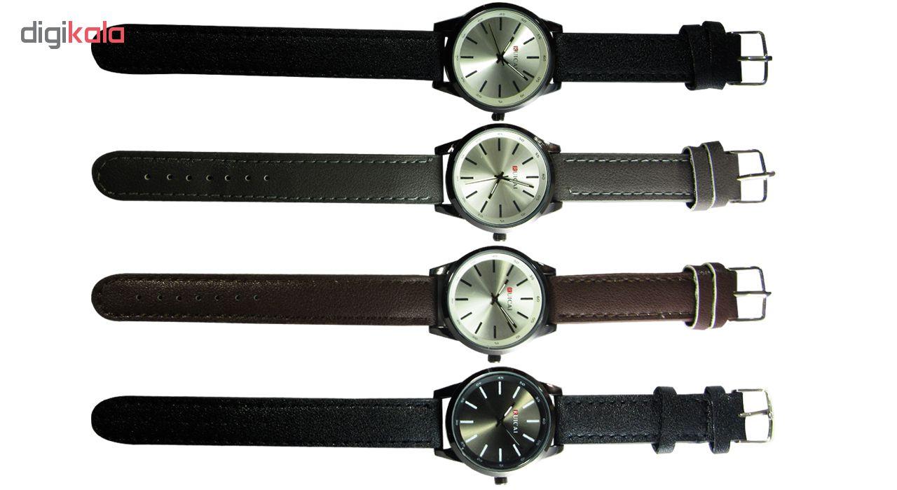 کد تخفیف                                      ساعت مچی عقربه ای مردانه رویکای مدل 3-S60
