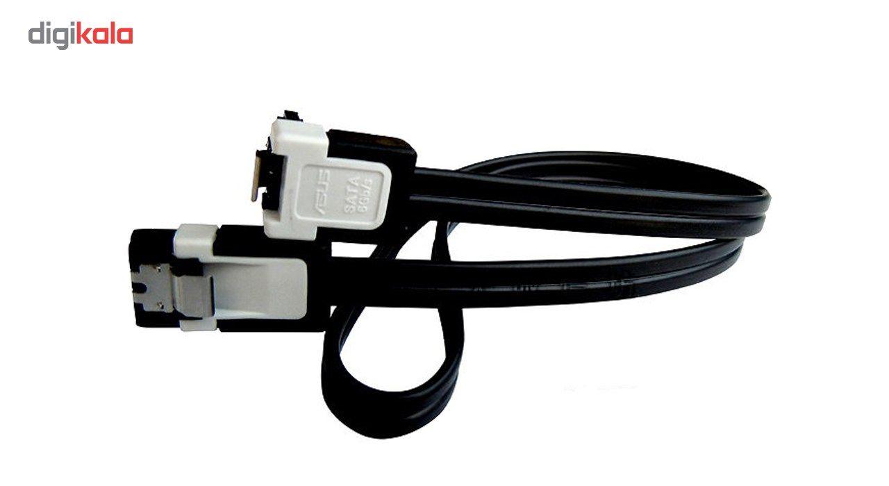 کابل دیتا 3 SATA  ایسوس مدل Lock  طول 50 سانتی متر main 1 1