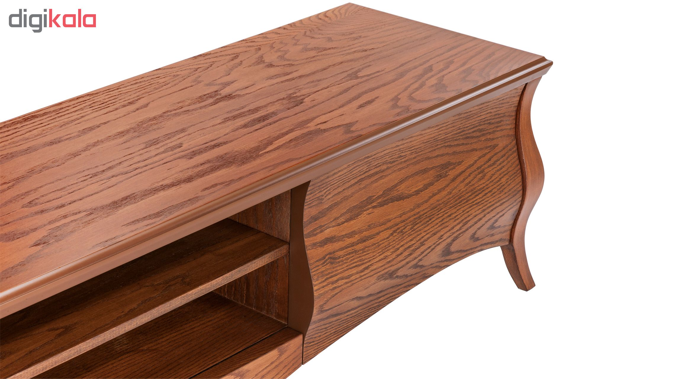 میز تلویزیون آیلکس مدل R16- WALNUT -200