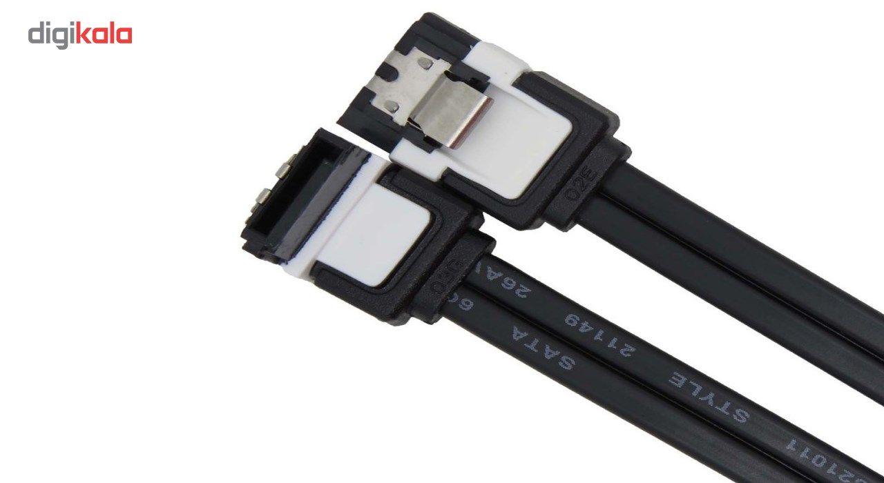 کابل دیتا 3 SATA  ایسوس مدل Lock  طول 50 سانتی متر main 1 2
