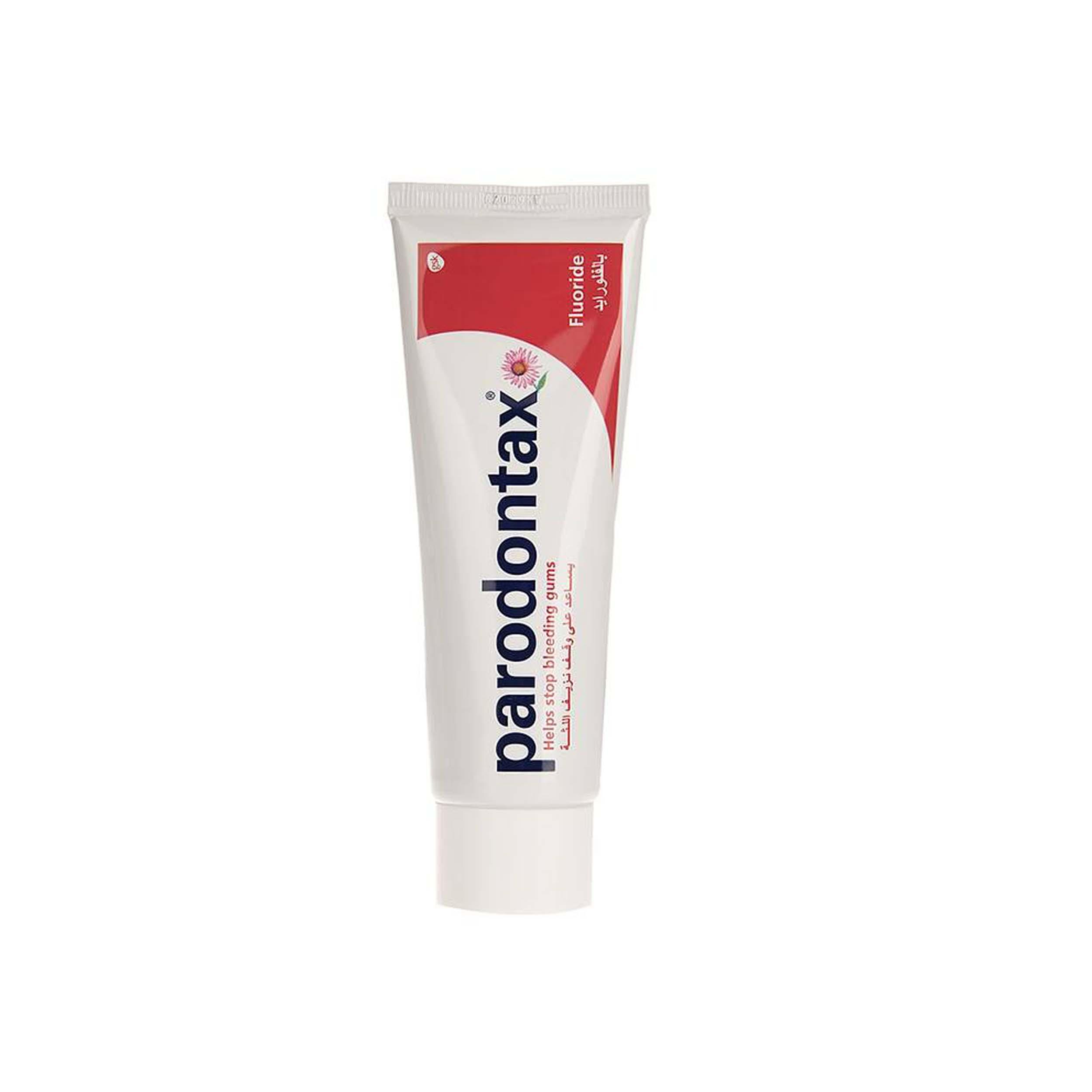 قیمت خمیر دندان پارودونتکس مدل Fluoride حجم 75 میلی لیتر