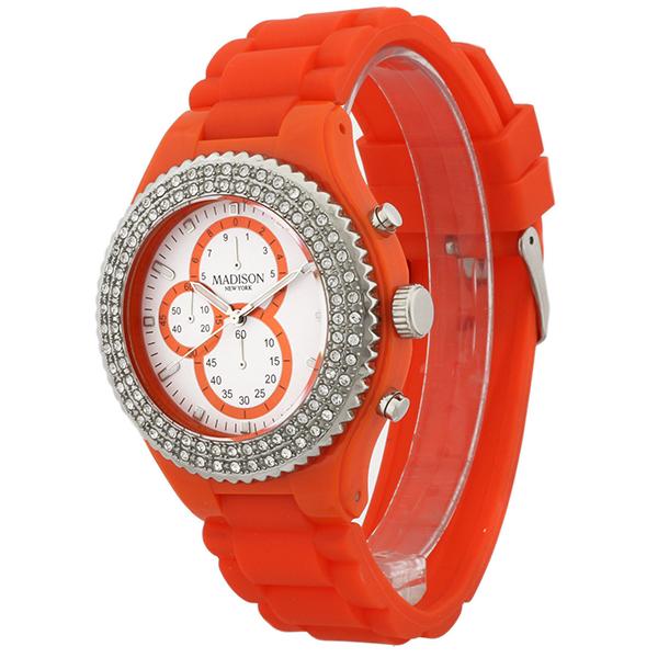 ساعت مچی عقربه ای زنانه مدیسون مدل U4398-04 46