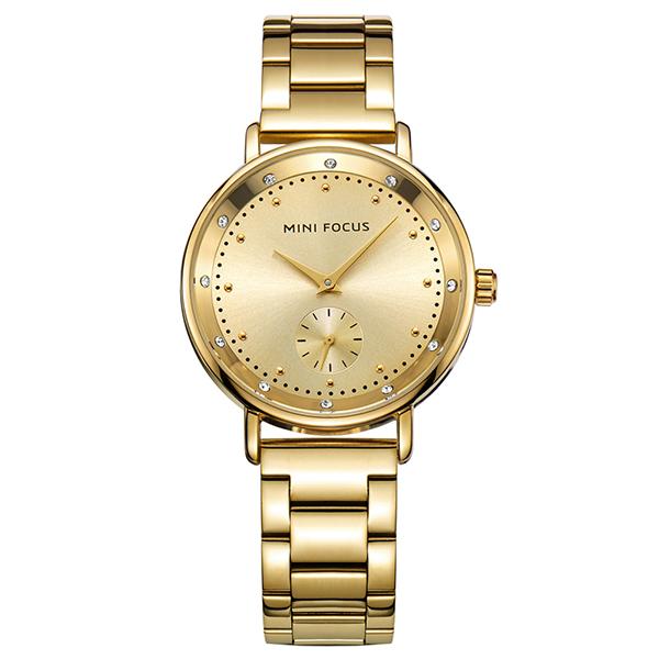 ساعت مچی عقربه ای زنانه مینی فوکوس مدل mf0037l.01