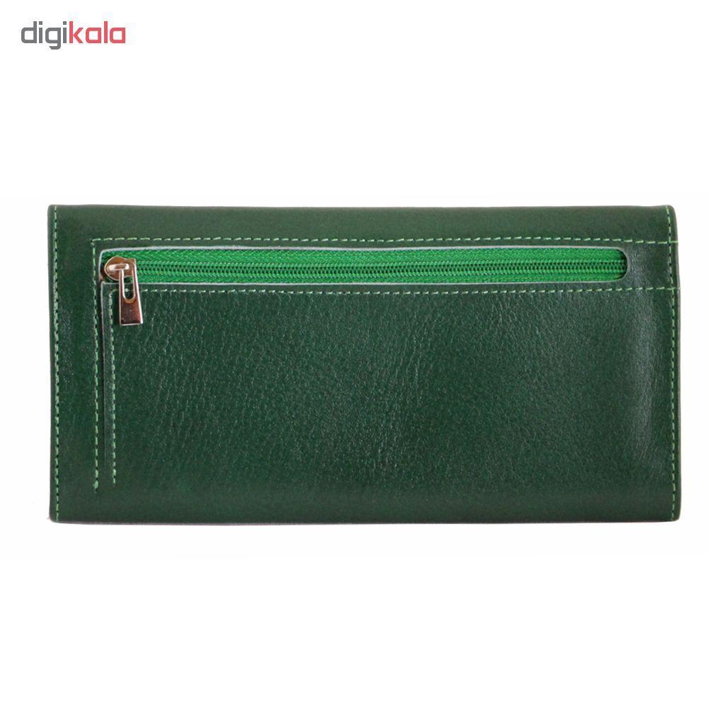 کیف پول زنانه آدین چرم مدل DM30 main 1 10