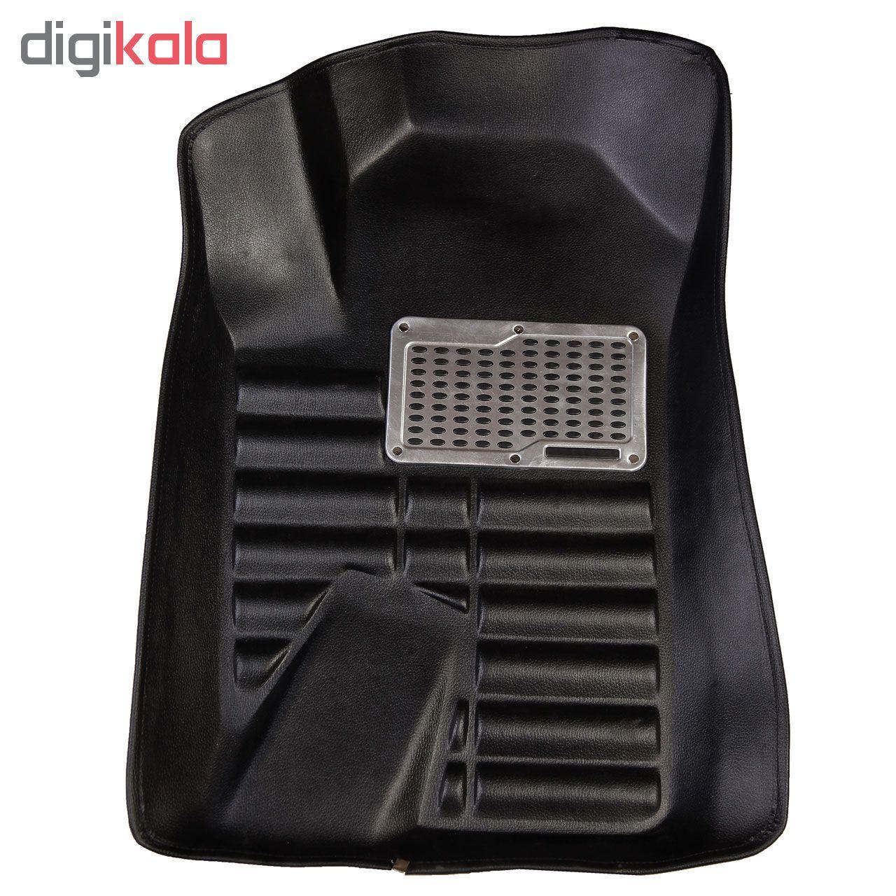 کفپوش سه بعدی خودرو مدل پالیز مناسب برای دنا-سمند-پژو 405-پارس main 1 6