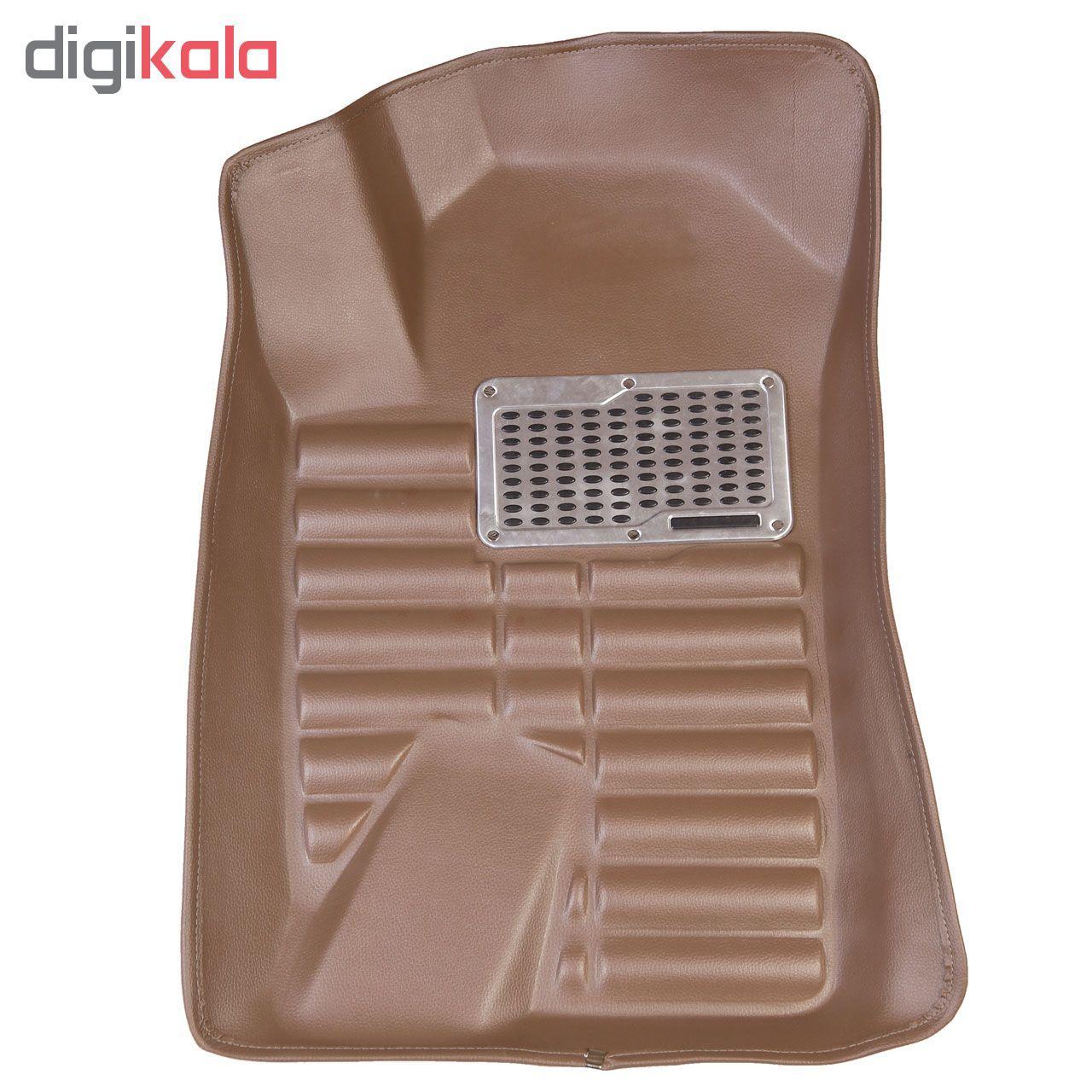 کفپوش سه بعدی خودرو مدل پالیز مناسب برای دنا-سمند-پژو 405-پارس main 1 10