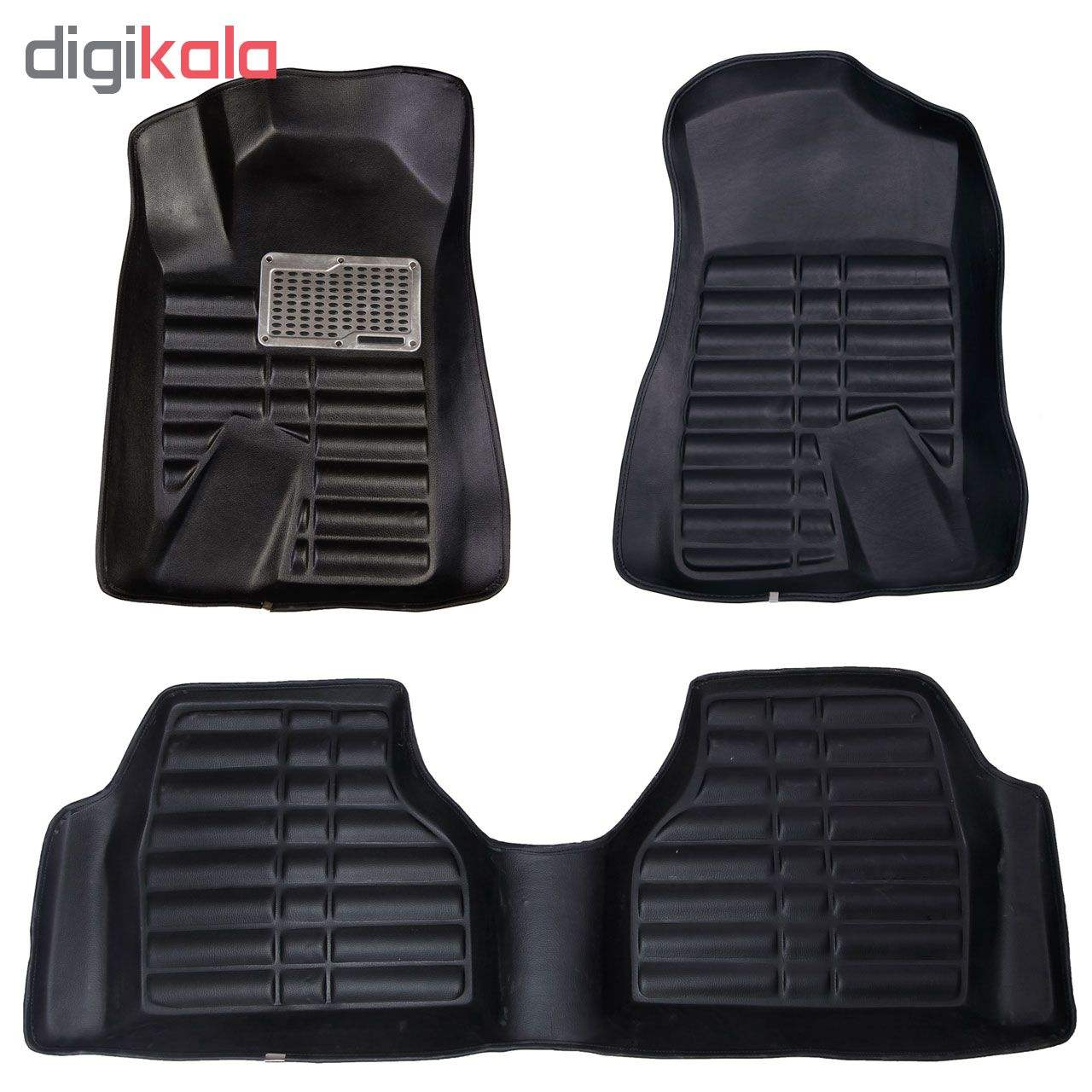 کفپوش سه بعدی خودرو مدل پالیز مناسب برای دنا-سمند-پژو 405-پارس main 1 11