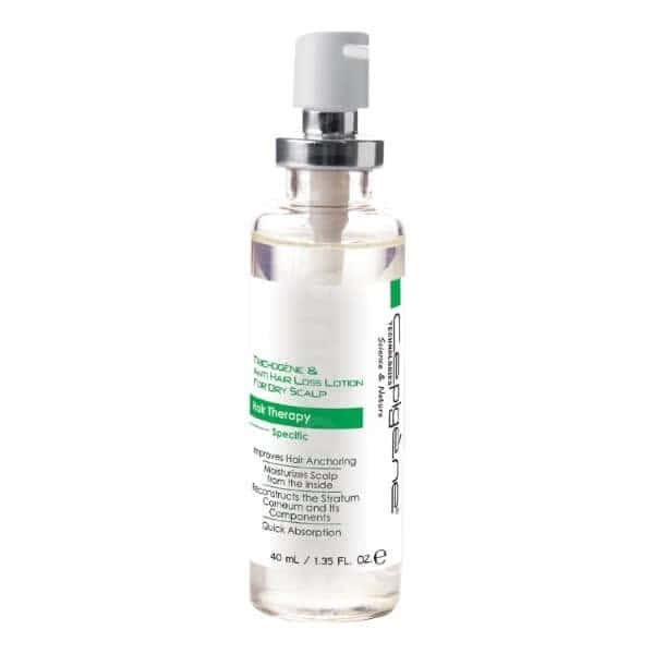 محلول ضدریزش مو سپیژن مدل پوست سر خشک حجم 40 میلی لیتر
