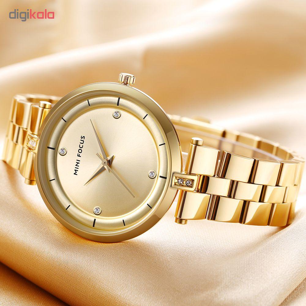 ساعت مچی عقربه ای زنانه مینی فوکوس مدل mf0120l.04
