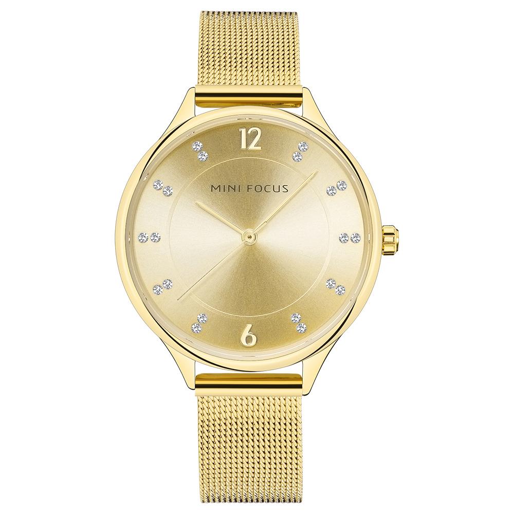 ساعت مچی عقربه ای زنانه مینی فوکوس مدل mf0045l.01