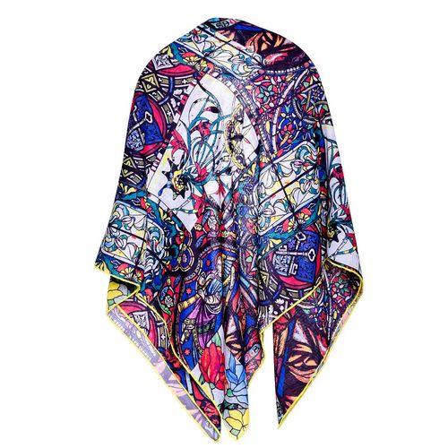 روسری نخی زنانه طرح شبنم