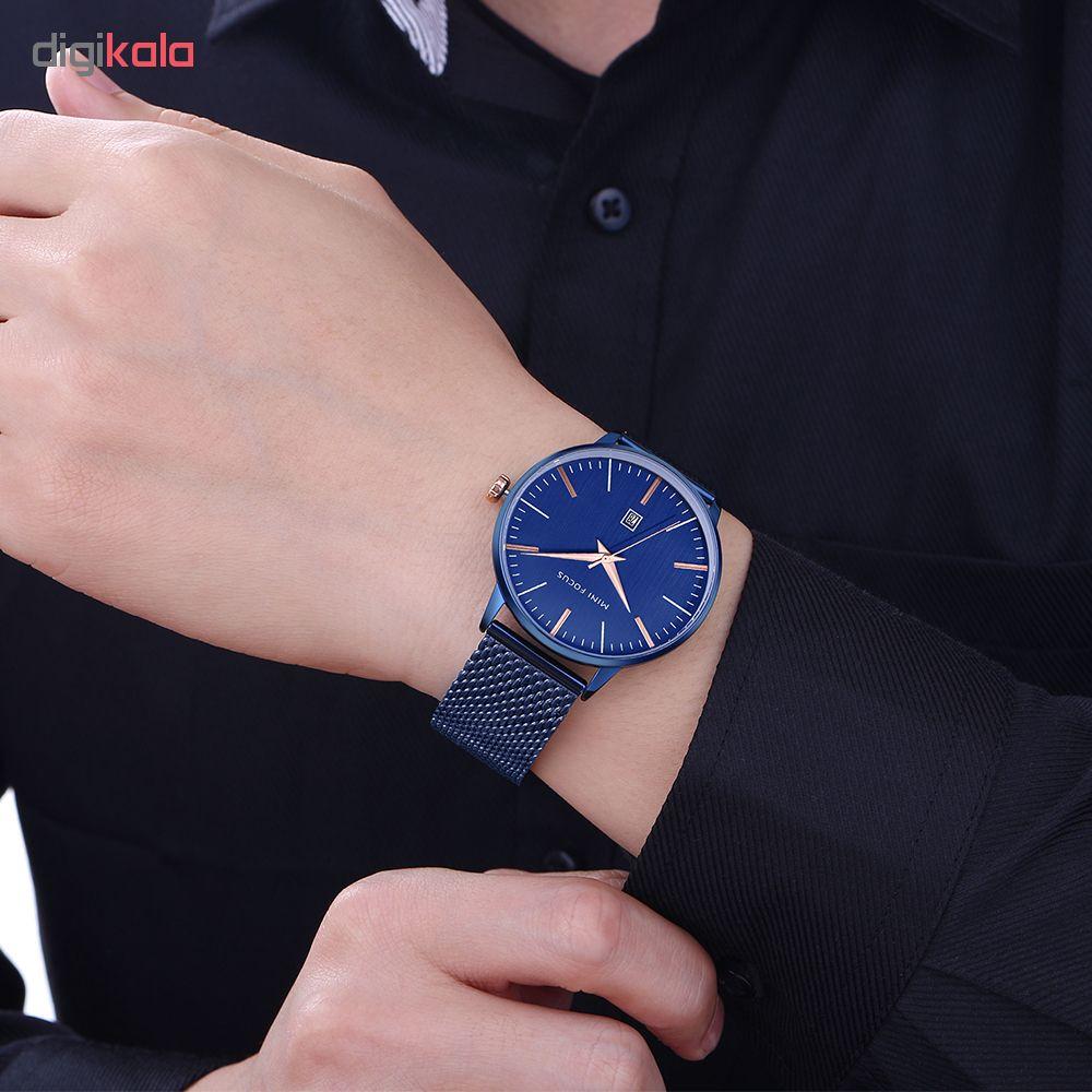 کد تخفیف                                      ساعت مچی عقربه ای مردانه مینی فوکوس مدل mf0115g.08