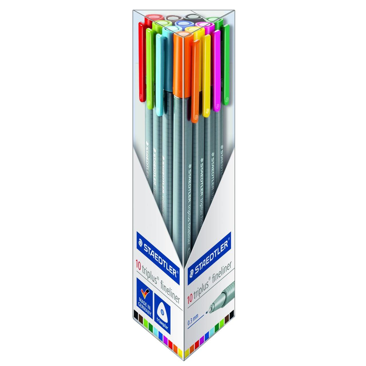 قیمت خرید روان نویس 10 رنگ استدلر مدل 334-TB10 اورجینال