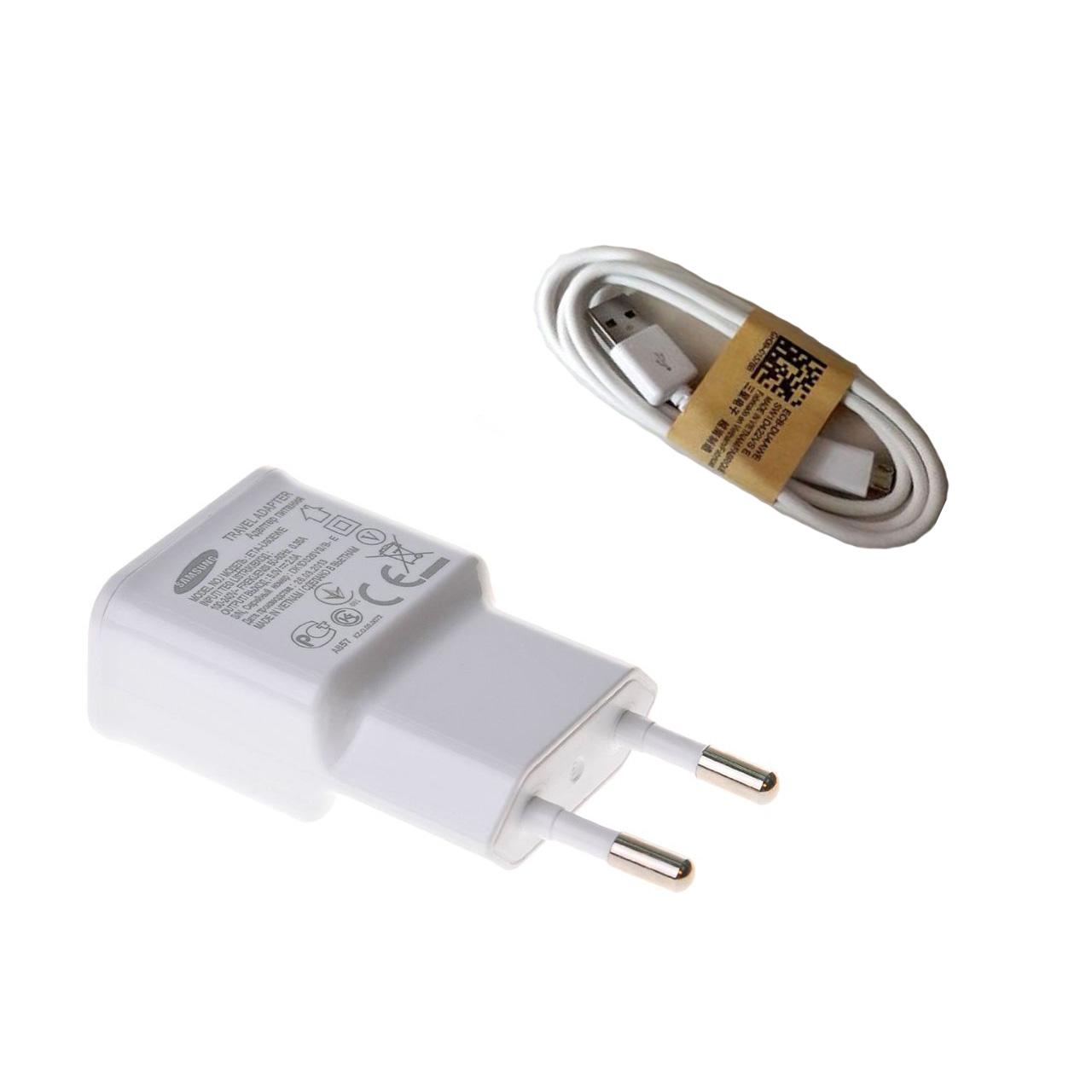 شارژر دیواری مدل ETA-U90EWE به همراه کابل Micro USB
