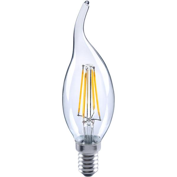 لامپ ال ای دی فیلامنتی 4 وات آاگ مدل FL-CL35 پایه E14