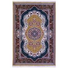 فرش ماشینی کد 102 زمینه گردویی